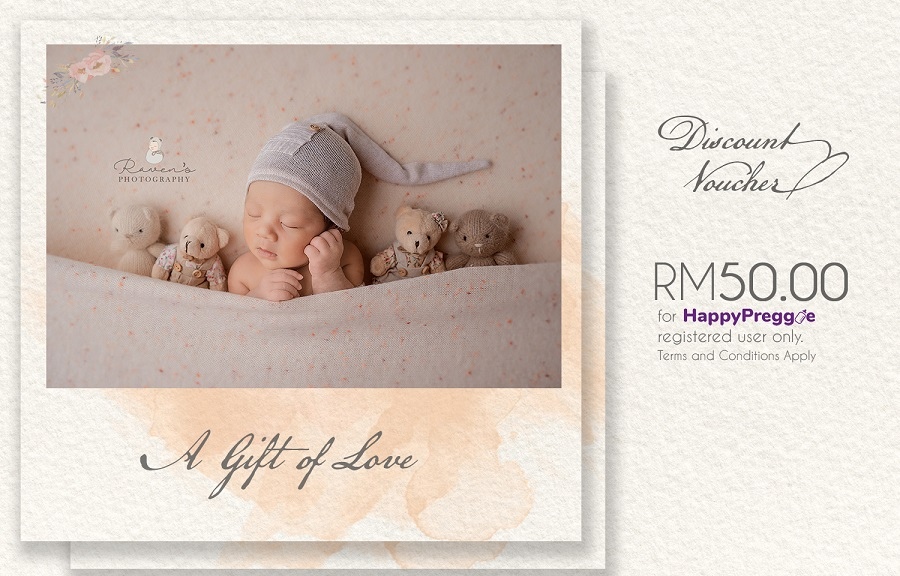 RM50 OFF for Newborn Photography