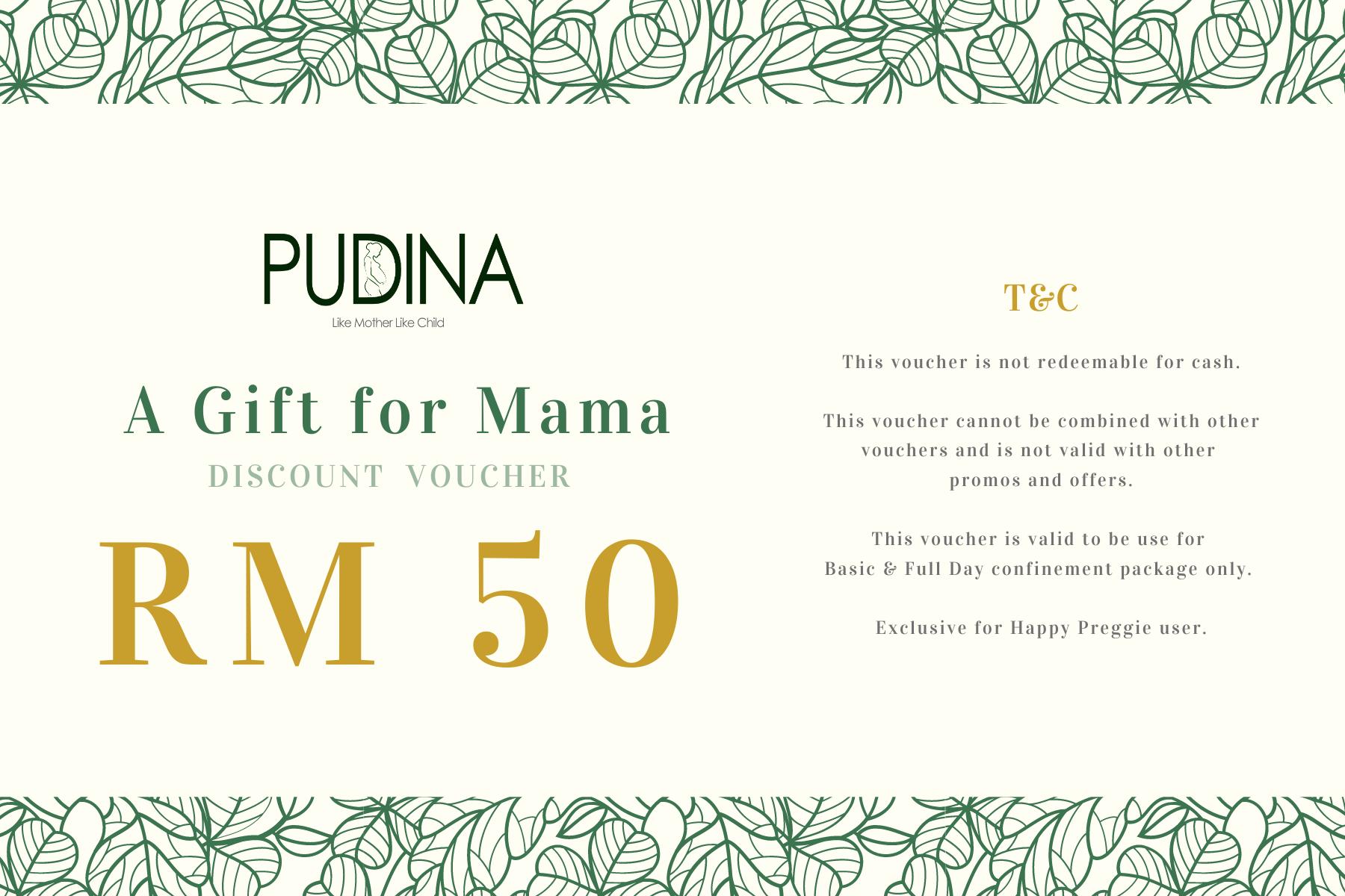 RM50 OFF Discount Voucher