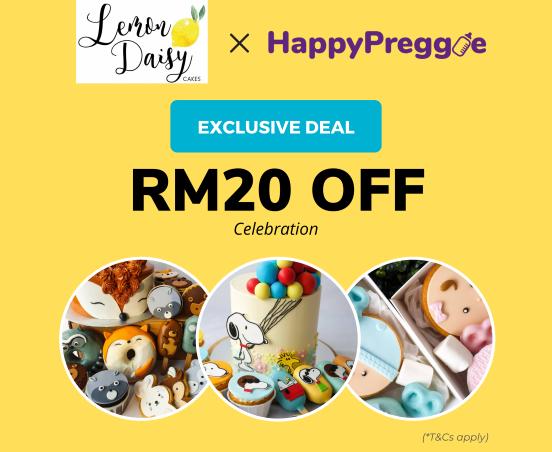 Lemon Daisy Cakes RM20 Cash Voucher