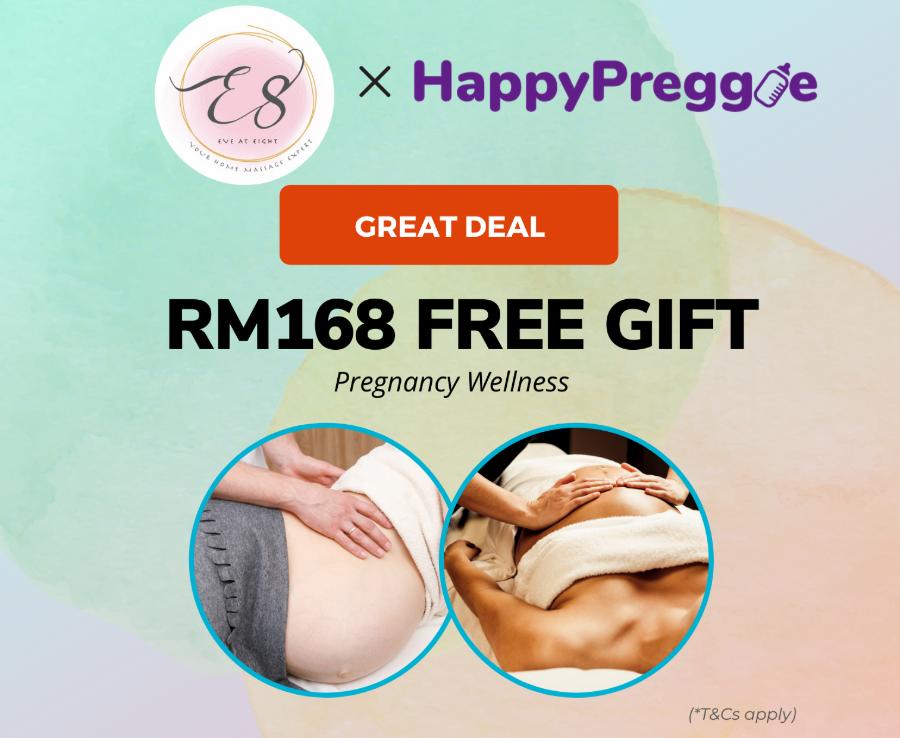 Complimentary Full Body Scrub worth RM168