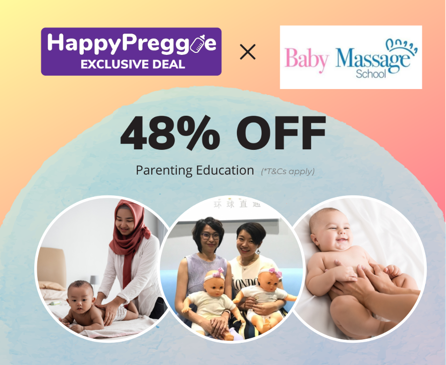 48% OFF for Baby Massage